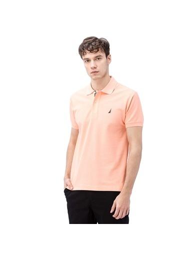 Nautica Polo Yaka Tişört Somon